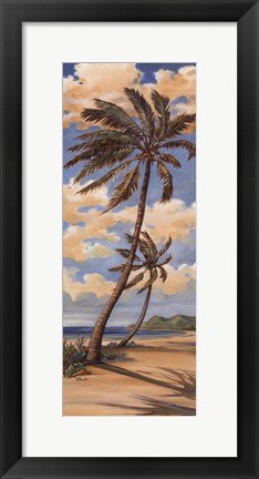Framed Palm Breeze I Print