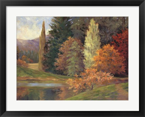 Framed Nature's Splendor II Print