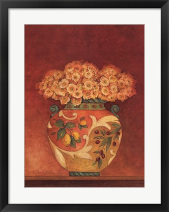 Framed Tuscan Bouquet II Print