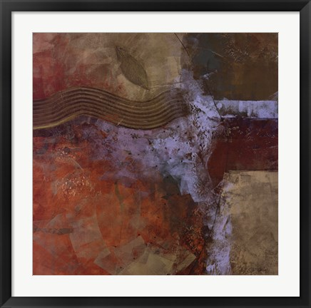Framed Foundation Earth II Print