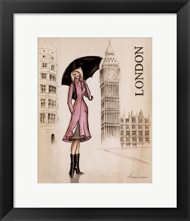 Framed London Print
