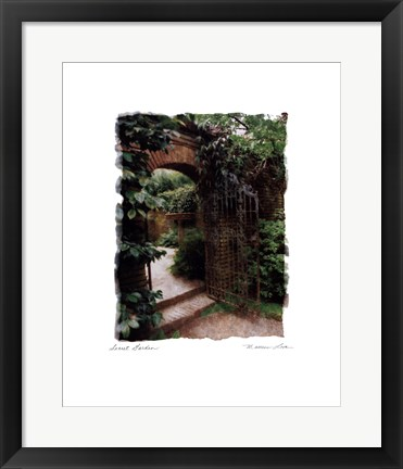 Framed Secret Garden Print