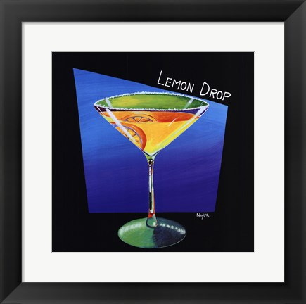 Framed Lemon Drop Print