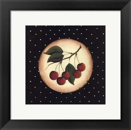 Framed 5 Cherries Print