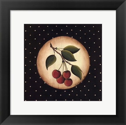 Framed 4 Cherries Print