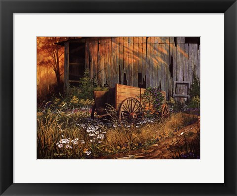 Framed Abandoned Beauty Print