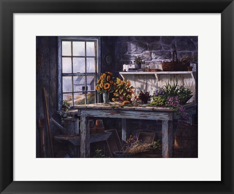 Framed Sunlight Suite Print
