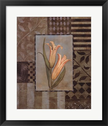 Framed Large Lillies Print