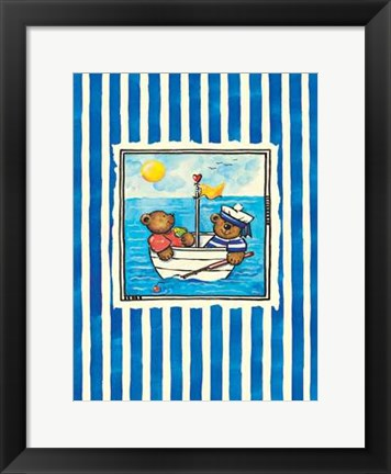 Framed Bar Ahoi Print
