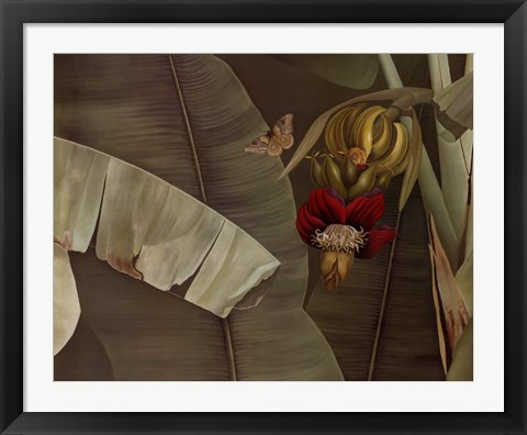 Framed Butterfly Dance Print