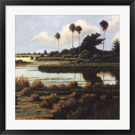 Framed Low Country Beach II Print