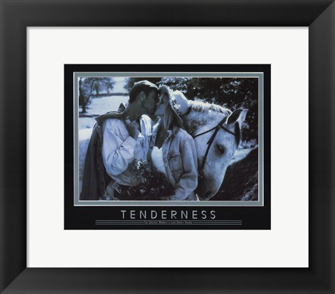 Framed Tenderness-the Greatest Warmth Print