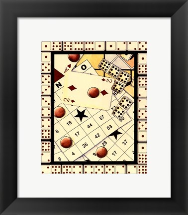 Framed Gaming IV Print