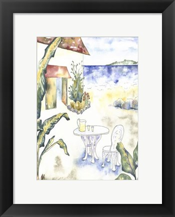 Framed Tropical Holiday II Print