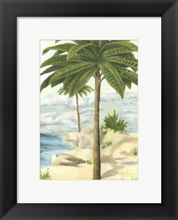 Framed Tropical Interlude I Print