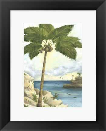 Framed Tropical Interlude II Print