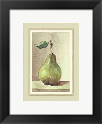 Framed Perfect Pear Print