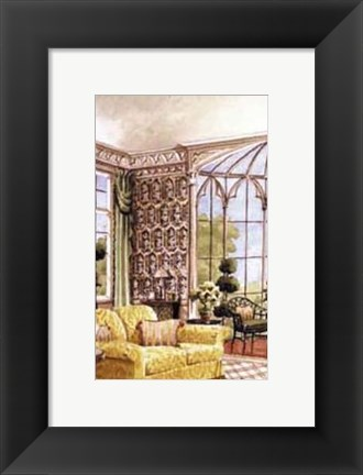 Framed View From the Conservatory Print