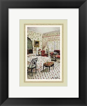 Framed Inviting Country Guestroom Print