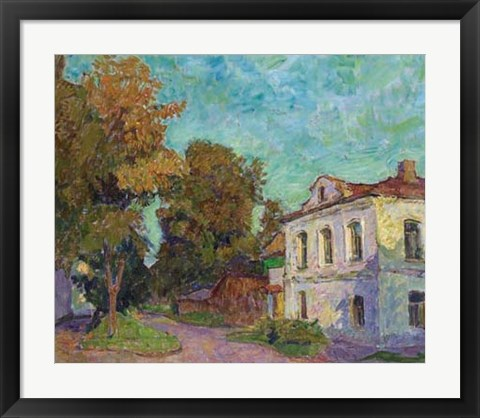 Framed Fall in Rostov Print