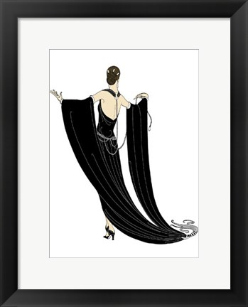Framed Sophisticated Ladies III Print