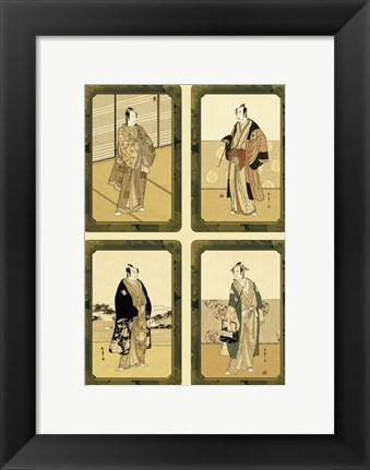 Framed Asian Aristocracy Print