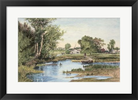 Framed Hanson Creek Print