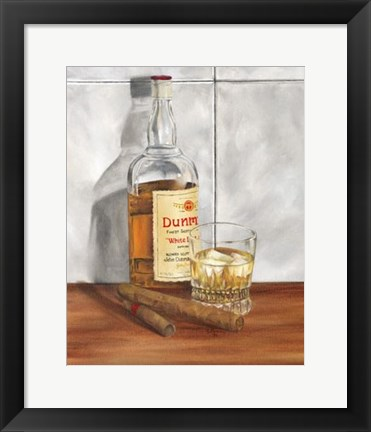 Framed Scotch on the Rocks II Print