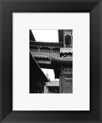 Framed Noble Bridge, Beijing Print