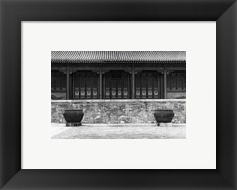 Framed Chinese Symmetry, Beijing Print