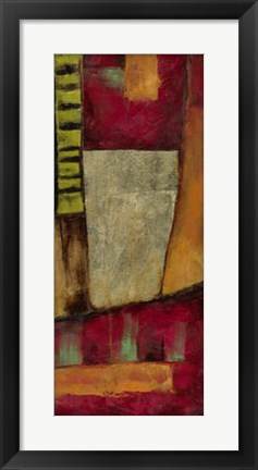Framed Abstract Playground II Print