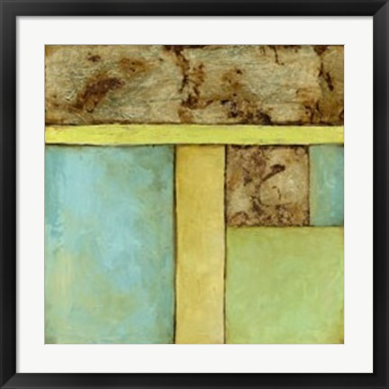 Framed Stained Glass Window IV Print