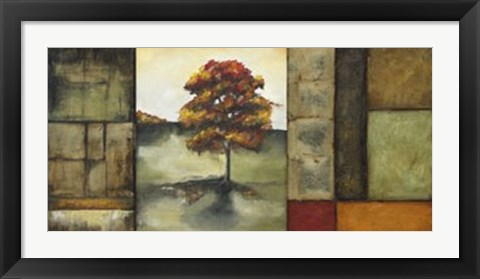 Framed Autumnal Impressions I (Le - signed and numbered) Print