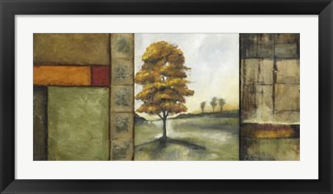 Framed Autumnal Impressions II (Le - signed and numbered) Print