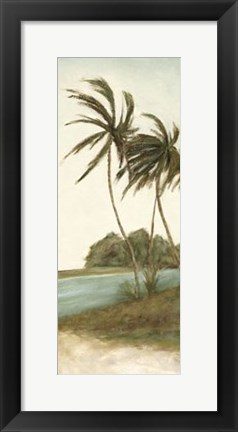 Framed Trish's Palms II Print