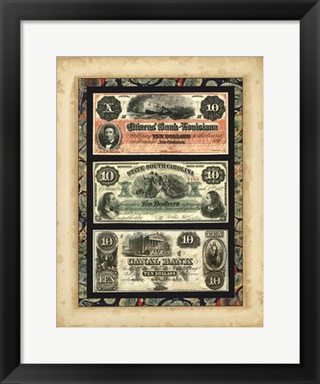 Framed Money, Money, Money VI Print