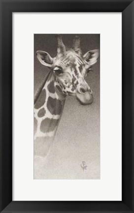 Framed Jean, The Giraffe Print