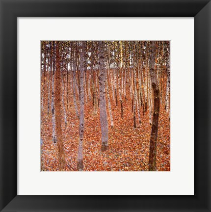Framed Forest of Beeches, c.1903 Print