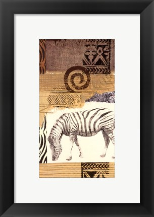 Framed Safari I Print