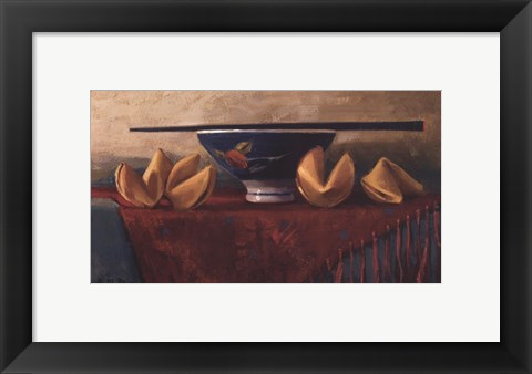 Framed Fortune Cookie Print