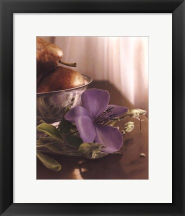 Framed Fall Elegance I Print