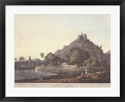 Framed Pagodas at Trinchicunum Print