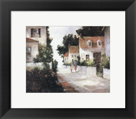 Framed On Sea Street Print