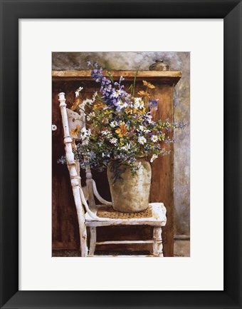 Framed Morning Arrangement, 1987 Print