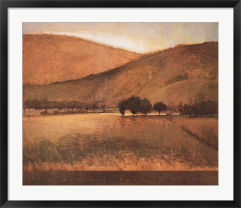Framed Morning Meadow Print