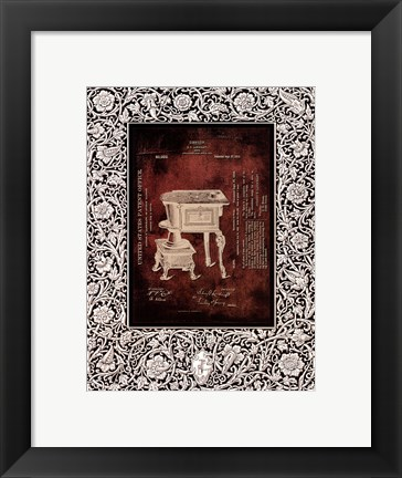 Framed Antique Patent I Print
