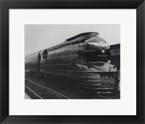 Framed Pennsylvania Railroad Print