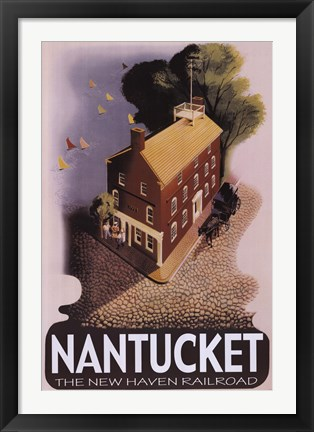 Framed Nantucket Print