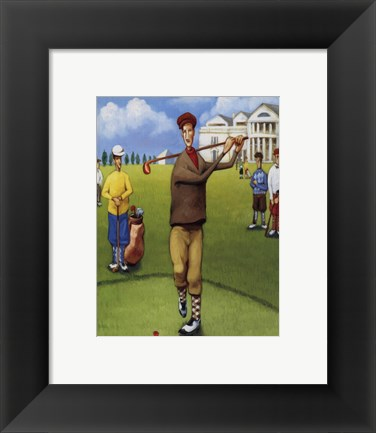 Framed First Tee Print
