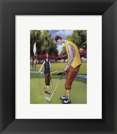Framed Putting for Birdie Print